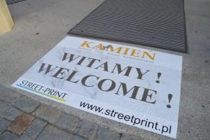 Street Print - reklama na chodniku