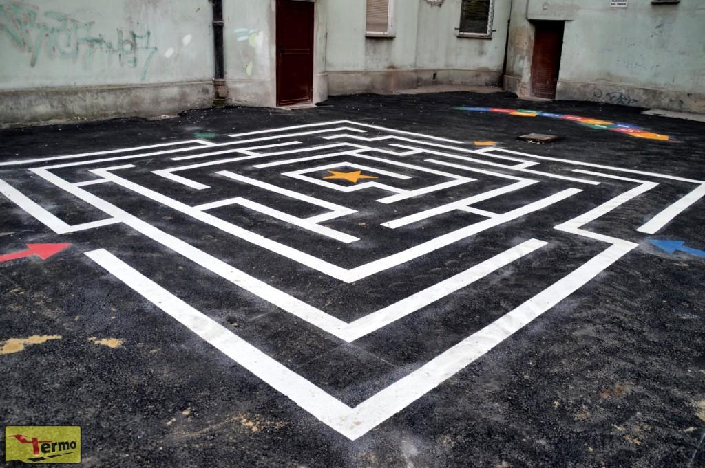 Gra podwórkowa Labirynt