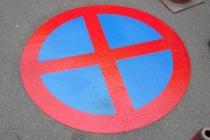 road-sign-termosign-parking-forbidden