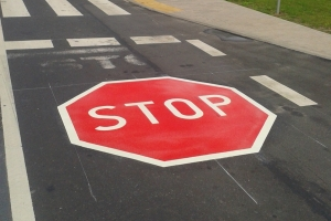 znak piktogram B-20 poziomy termoznak stop
